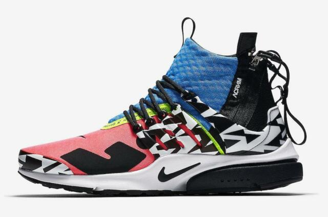 promo code e3c04 e94e3 Nike Acronym Air Presto Mid Cotton Candy Racer Pink Photo Blue White  AH7832-600
