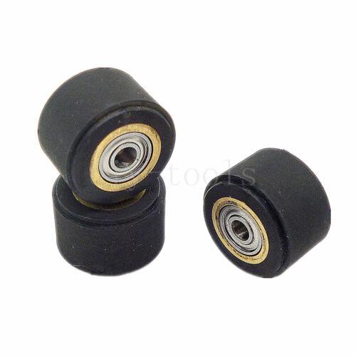 3pc Pinch Roller For Roland Vinyl Plotter Cutter 3*11*16mm Hole Dia 3mm Bearing