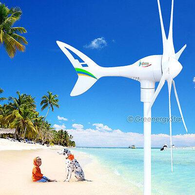 Apollo MAX 550 W Watt 24 V DC Magnet PMA Wind Turbine Generator 6Blade+Rectifier