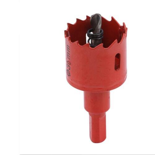 Aircraft Wood Drill Bit Adapter Carpenter 1PC Hardware Iron Plate Light Hole YW