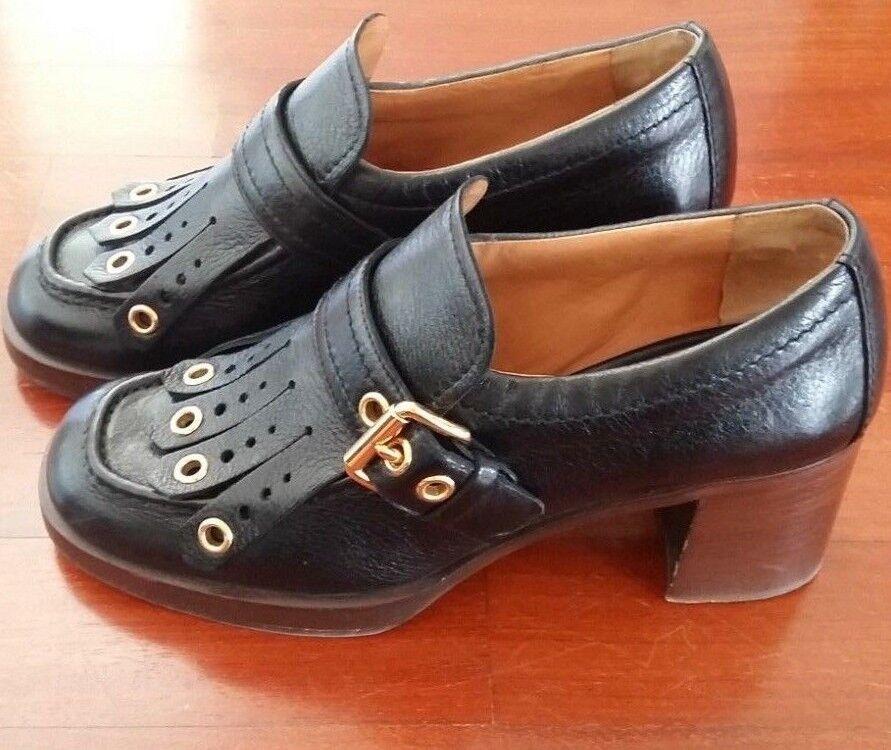 una marca di lusso Mocassini Donna Car scarpe Pelle colore Nero (Donna (Donna (Donna scarpe Car scarpe nero Leather)  Sconto del 40%