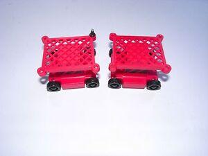 2 Red ROKENBOK Scaffolds