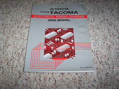 2002 Toyota Tacoma Truck Electrical Wiring Diagram Manual ...