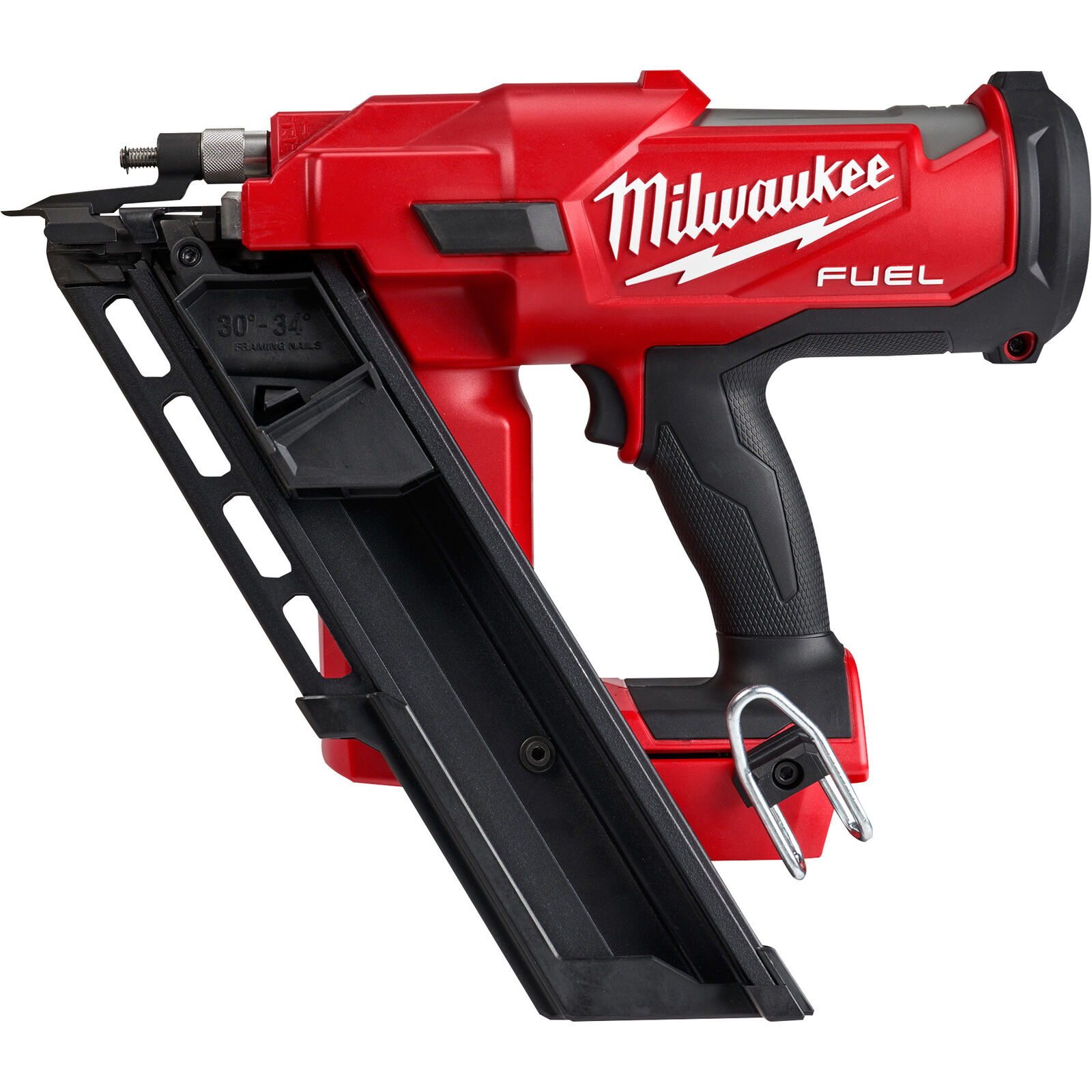 Milwaukee M18 FUEL Cordless 30 Degree Framing Nailer — Tool Only. Buy it now for 349.00