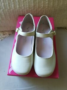 classic style retail prices buy online Details about New!Nina Bonnett Bone Pearlized Mary Jane leather Shoes Size  8.5 Ivory off white