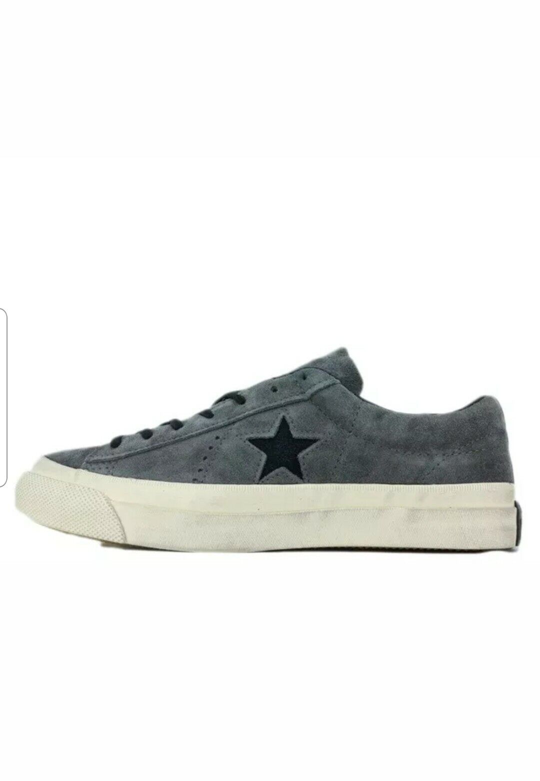 One Star Player Ox Suede Olive Grey Men