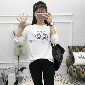 Cartoon-Clothing-Harajuku-Ropa-Sailor-Moon-Artemis-Cat-Neko-Sweatshirt-Hoodie