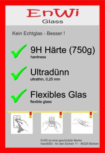 2x enwi Glass 9h fossil dorado Ø 34 mm protector de pantalla cristal blindado lámina