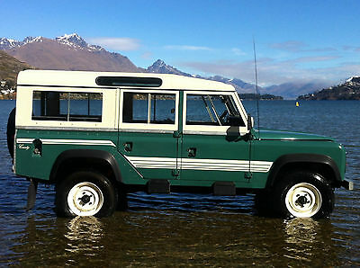Land Rover Series 3 88 109 Station Wagon County Decal Stripes Sticker Set