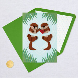 Otter 3-d pop up card Popup Card 3D Birthday Card