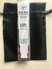 It Cosmetics Bye Bye Foundation Full Coverage Moisturizer 1.08 Oz Medium