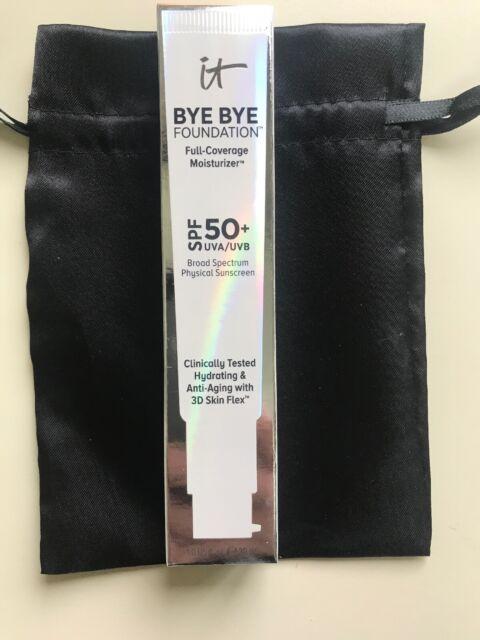 It Cosmetics Bye Bye Foundation MEDIUM SPF 50+ (1.08 fl. oz. 32 ml) Full Sz. NIB