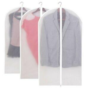 1//5//10X Kleidersack Kleiderschutzhülle Anzug Mantel Schutzabdeckung Schutzhülle