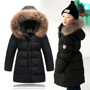 Fille-Winter-Down-Jacket-Thick-Hooded-Outwear-Coat-Fur-Collar-Doudoune-Manteau