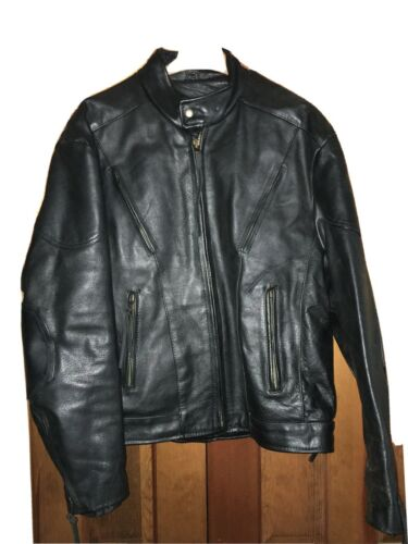 Mens Interstate Leather, Leather Jacket XXL