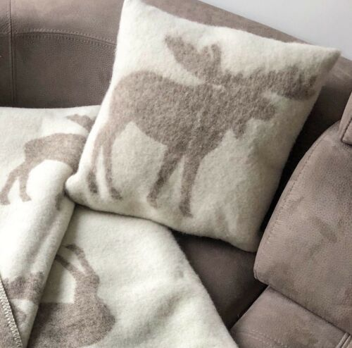 """Pillow Cushion 100/% Wool Cover Anti-allergic 16x16/"""" Decorative Bed Couch Sofa EL"""