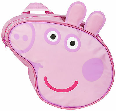 PEPPA PIG CHARACTER SHAPED Childrens Kids Official Backpack Bag Back to School
