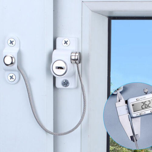 Afety Manufacturing Baby Safety Lock Window Door Restrictor Window Safe Security