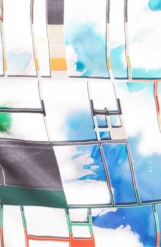 NEW ROBERT GRAHAM FUN SHIP MULTI COLOR WOVEN SWIMWEAR SHORTS//TRUNKS Sz 38,40