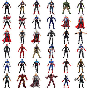Marvel-Figure-Superhero-Hulk-Captain-America-Black-Widow-Action-Figure-Doll-Toys