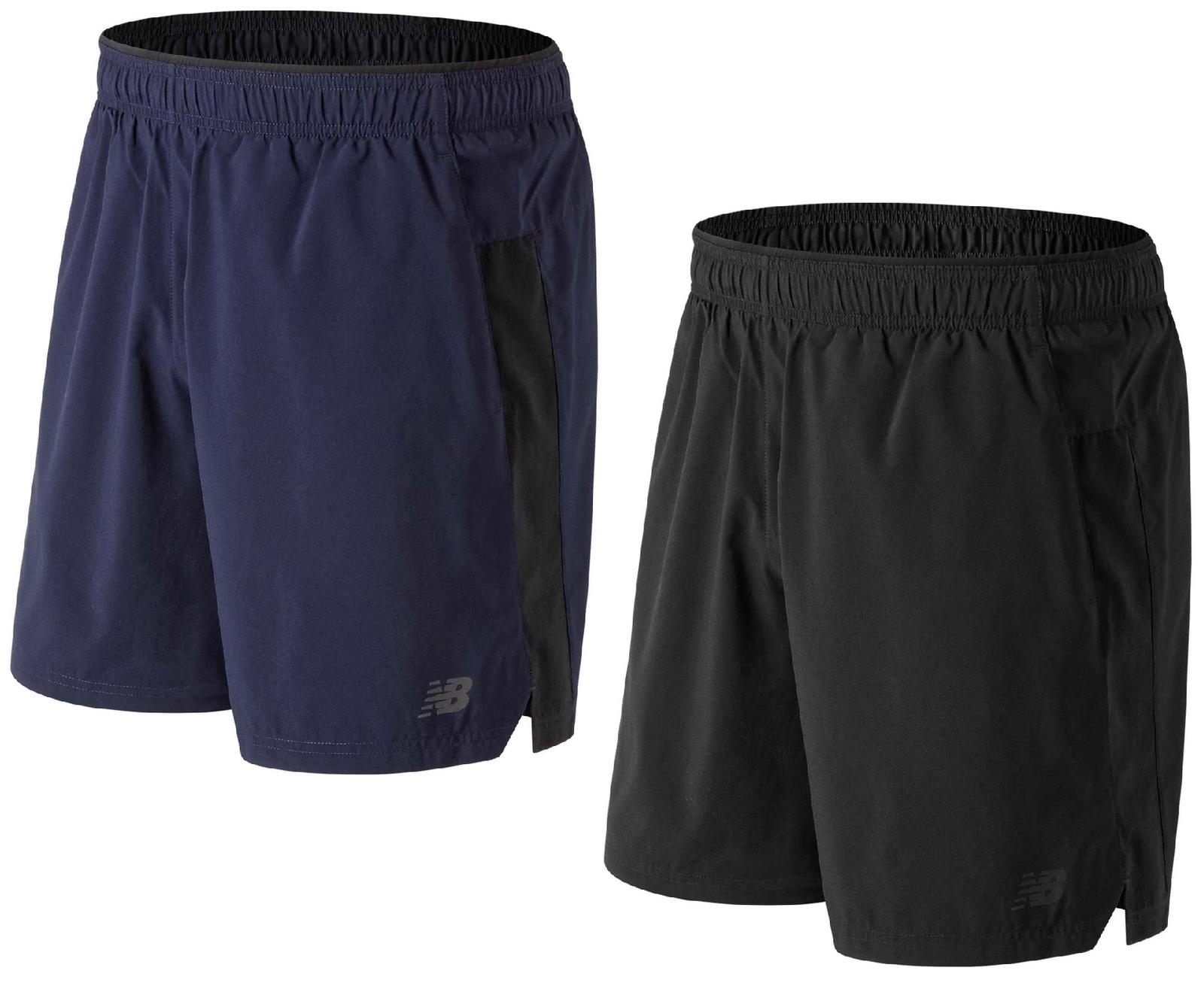 New Balance Herren Shorts Kurzhose Sporthose Fußball Jogging Core 2in1 3322