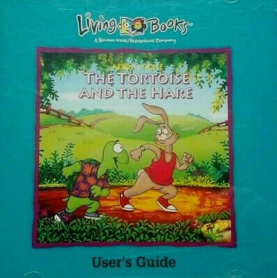 Living Books Aesop S Fable The Tortoise And The Hare Cd Pc Disc Only J467 Ebay