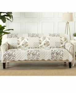 Quilted-Cottage-Furniture-Covers-Slipcover-Protectors-Chair-Loveseat-Sofa-Couch