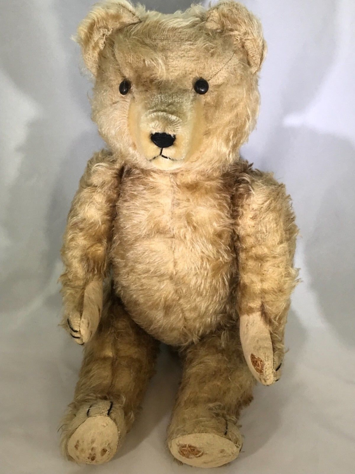 """Antique 22"""" Jointed Teddy orso (AB)"""