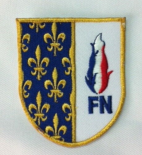 ECUSSON PATCH FRONT NATIONAL FN MARINE LE PEN SALVINI LEGA RN