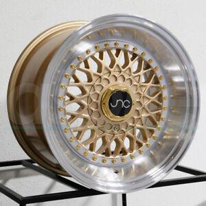 One-17x8-5-JNC-004S-5x100-5x114-3-15-Gold-Machine-Lip-GR-Wheel-Rims