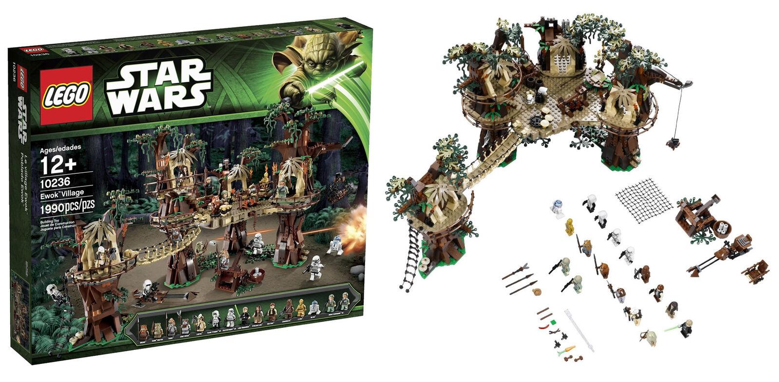 LEGO 10236 Ewok Village (fri Canadian Shipping)