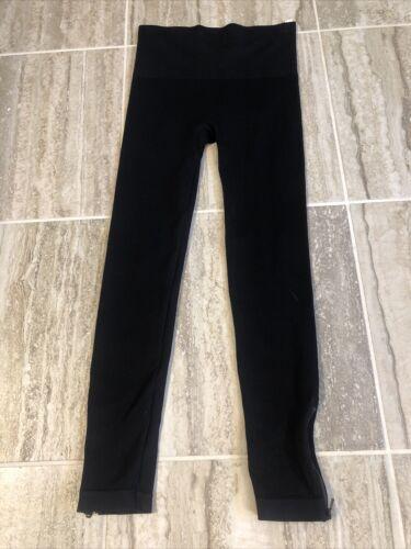 Spanx Spanx Seamless Side-Zip Leggings Black Size