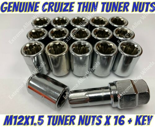 Alloy Wheel Nuts Tuner Nuts x 16 M12x1.5 Jaguar F Type S Type X Type XE XF XJ XK