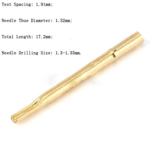 10Pcs Dia 0.68mm-2.4mm Spring Test Probe Pogo Pin Multiple Types New