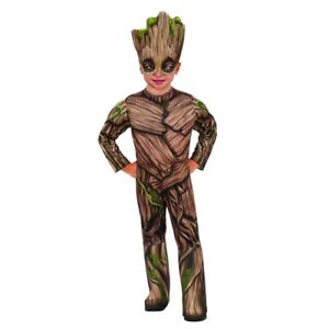 2 Groot Deluxe Costume XS Toddler 2-4 Guardians of the Galaxy Vol