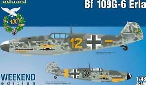 eduard Bf 109G-6 élaboré Ehrler Stab.III JG.5 modèle-kit 1:48 109 E kit