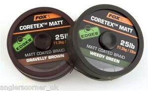 Fox-Bords-Matte-Coretex-TRESSE-peche-a-la-carpe
