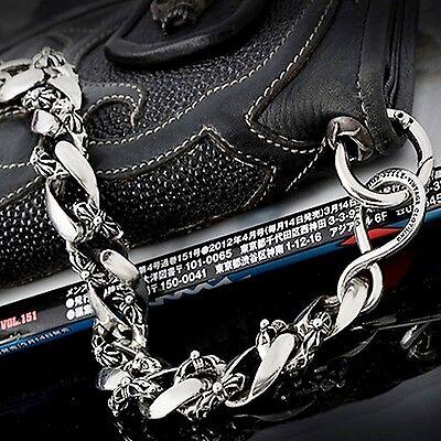 Guntwo Mens Korean Fashion Jewelry Funk Biker Skull Jean Wallet Chain C1146 US