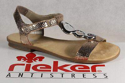 Rieker Damen Sandalen kupfer 36 | Karstadt Online Shop