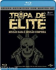 Tropa de Elite Definitive Edition Blu-ray [ Elite Squad ][Subtitles Eng+Spa+Por]
