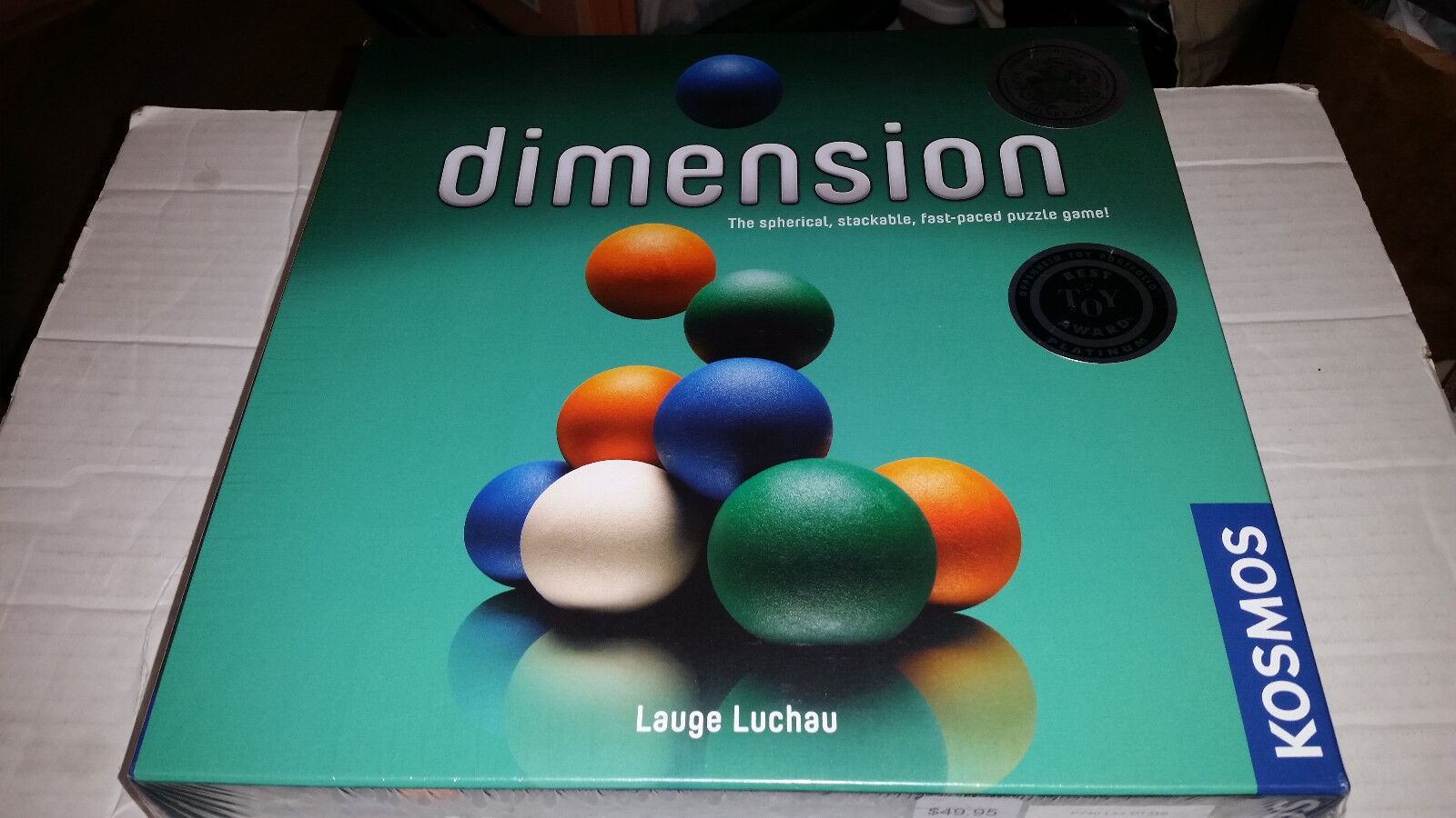 Dimension Board Game NEW SEALED