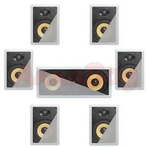 7-1-In-Wall-In-Celing-Speaker-System-Kevlar-Speakers-Power-Peak-2100-Watts