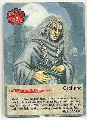 Spellfire 4th Edition Card M//NM 348//500 Cidre Bint Corina