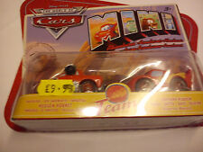 MATTEL 1/64 THE WORLD OF CARS TEAM HUSON HORNET / LIGHTNING MCQUEEN 2 CAR SET