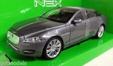 Nex models 1/24 Scale 22517W 2010 Jaguar XJ Metallic grey Diecast model car