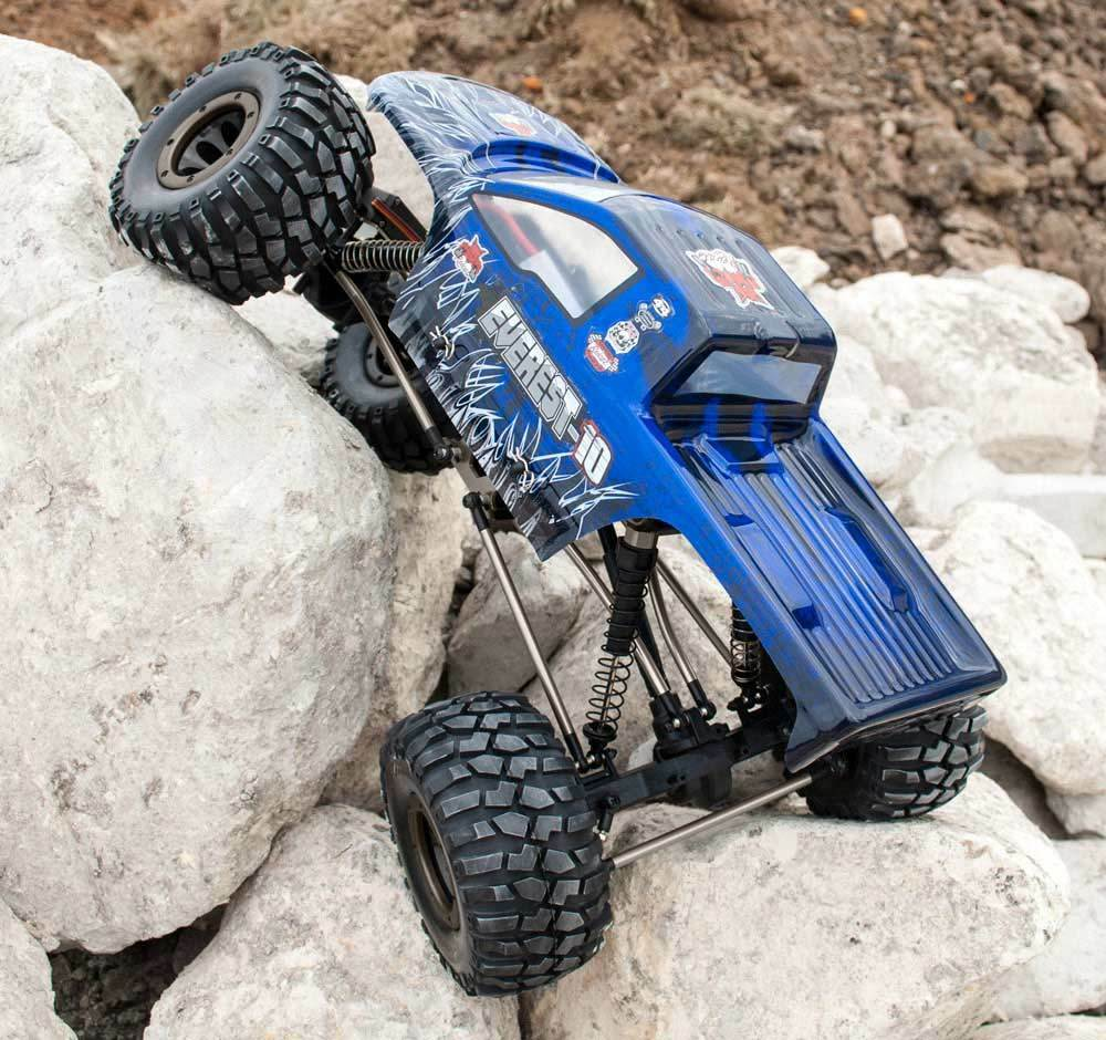 Redcat Everest-escala 10 1/10 Control Remoto Rc Rock Crawler 2.4GHz Azul