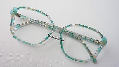 Brille Gestell Handmade Hippiebrille Oversized Pastellfarben Groß Eckig Size M Waren Des TäGlichen Bedarfs
