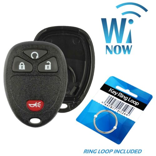 Car Fob Shell Case 4B For 2011 2012 2013 Chevrolet Silverado 1500 2500 3500