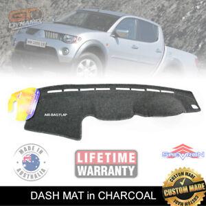 Grey Dashmat for MITSUBISHI Triton MN GLX 1//2014-6//2015 Dash Mat DM1147