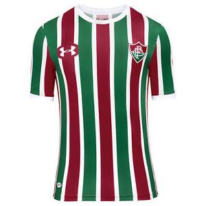 Image is loading Fluminense-Home-Soccer-Football-Jersey-Shirt-2017-2018- 7b83d0b96f471